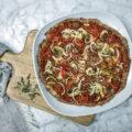 Pizza base coliflor